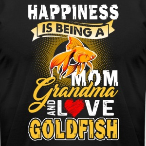 Goldfish Shirt - Goldfish Mom Shirt - Men's T-Shirt by American Apparel