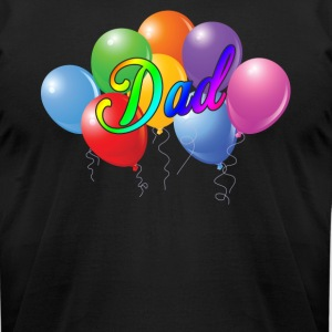 Balloons Shirt - Balloons Dad Tee Shirt - Men's T-Shirt by American Apparel