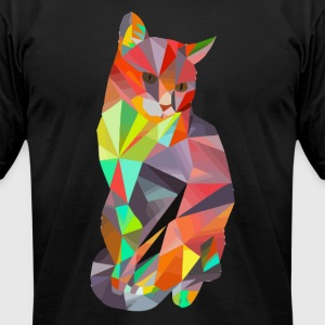 Cate Kater - Men's T-Shirt by American Apparel