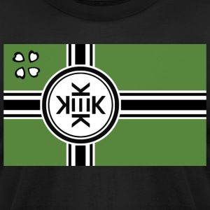 Kekistan Flag - Men's T-Shirt by American Apparel
