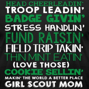 Head cheerleadin troop leadin badge handlin fund r - Men's T-Shirt by American Apparel