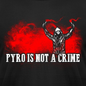 ACAB Pyro is not a crime - Men's T-Shirt by American Apparel