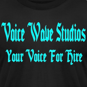 Voice Wave Studios - Men's T-Shirt by American Apparel