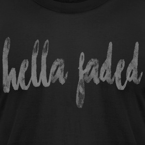 Hella Faded - Men's T-Shirt by American Apparel