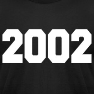 TIME AND PLACE 2002 - Men's T-Shirt by American Apparel