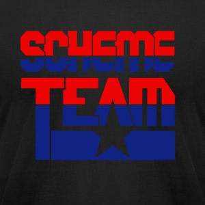 SCHEME TEAM COLLECTIVE - Men's T-Shirt by American Apparel