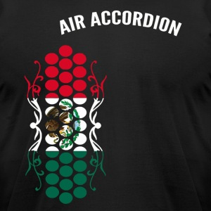 Air Accordion champions - Flag of Mexico - Men's T-Shirt by American Apparel