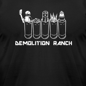 Demolition Ranch Tshirt Demolition Love - Men's T-Shirt by American Apparel