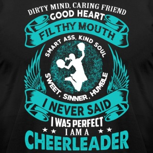 Perfect Cheerleader - Men's T-Shirt by American Apparel