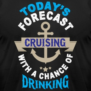 Today's Forecast Cruising T Shirt - Men's T-Shirt by American Apparel