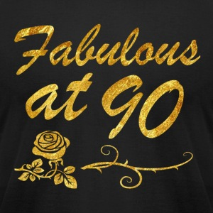 Fabulous at 90 years - Men's T-Shirt by American Apparel
