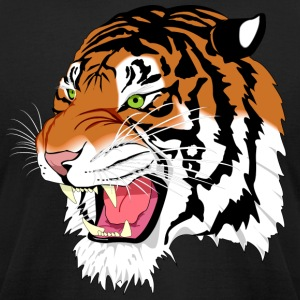 Tiger - Men's T-Shirt by American Apparel