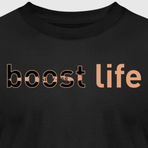 Copper Yeezy V2 Boost Life Short Sleeve T-Shirt - Men's T-Shirt by American Apparel