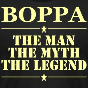 Boppa The Man The Myth The Legend - Men's T-Shirt by American Apparel