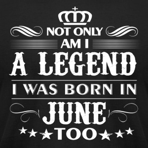 June month Legends tshirts - Men's T-Shirt by American Apparel