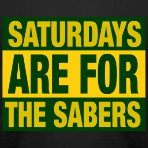 Saturdays Are For The Sabers - Men's T-Shirt by American Apparel