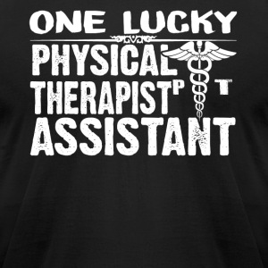 Physical Therapist Assistant T Shirts - Men's T-Shirt by American Apparel
