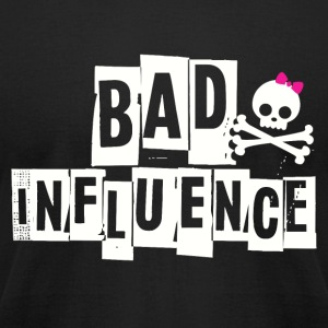 BAD INFLUENCE - PUNKY - Men's T-Shirt by American Apparel