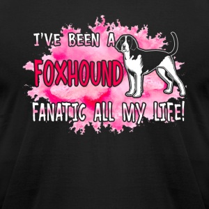 Foxhound Shirt - Men's T-Shirt by American Apparel