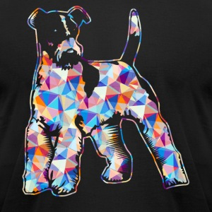 Wire Fox Terrier Shirts - Men's T-Shirt by American Apparel