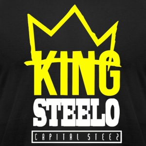Capital STEEZ KING STEELO - Men's T-Shirt by American Apparel