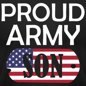 Proud Army Son - Men's T-Shirt by American Apparel