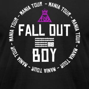 FALL OUT BOY - Men's T-Shirt by American Apparel