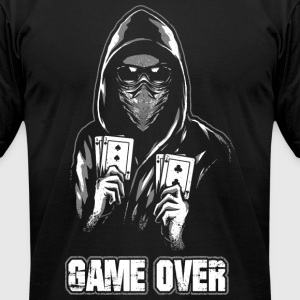 ACAB - Game Over - Men's T-Shirt by American Apparel