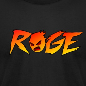 Rage T-shirt - Men's T-Shirt by American Apparel