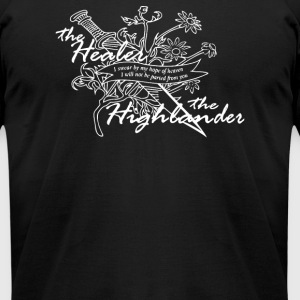 THE HIGHLANDER - Men's T-Shirt by American Apparel