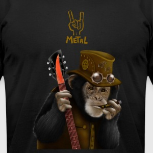 smoking ape - Men's T-Shirt by American Apparel