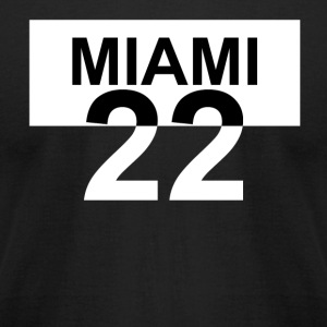 MIAMI 22 - Men's T-Shirt by American Apparel