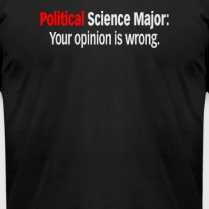 Political Science Major - Men's T-Shirt by American Apparel