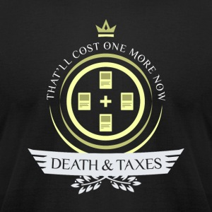 Magic the Gathering - Death and Taxes Life V2 - Men's T-Shirt by American Apparel