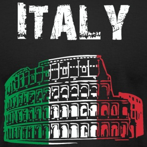 Nation-Design Italy Coliseum - Men's T-Shirt by American Apparel
