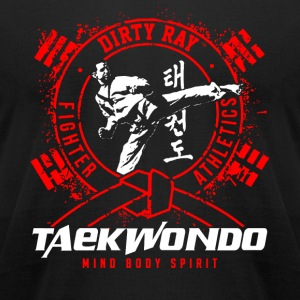 TAEKWONDO - Men's T-Shirt by American Apparel