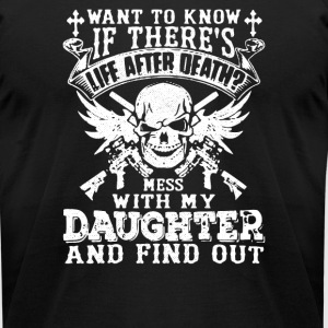Is There Life After Death - Men's T-Shirt by American Apparel