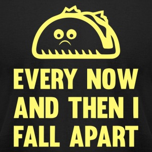 Taco Fall Apart - Men's T-Shirt by American Apparel