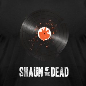 Shaun of the dead shirt - Men's T-Shirt by American Apparel