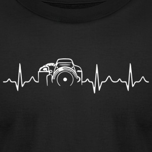 Photographer - Photographer - HeartBeat Photogr - Men's T-Shirt by American Apparel