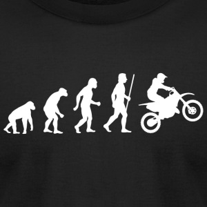 Dirtbike - Evolution Dirtbikes - Men's T-Shirt by American Apparel
