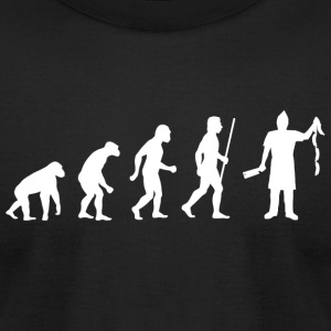 Butcher - Funny Evolution of Butcher - Men's T-Shirt by American Apparel