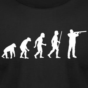 Shooting - Evolution Shooting - Men's T-Shirt by American Apparel