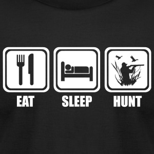 Duck Hunting - Eat Sleep Duck Hunting - Men's T-Shirt by American Apparel