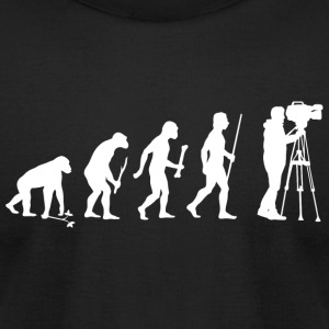 Cameraman - Evolution Of Cameraman - Men's T-Shirt by American Apparel