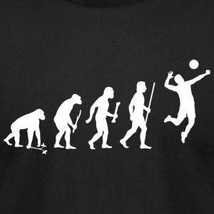 Volleyball - Volleyball Evolution - Men's T-Shirt by American Apparel