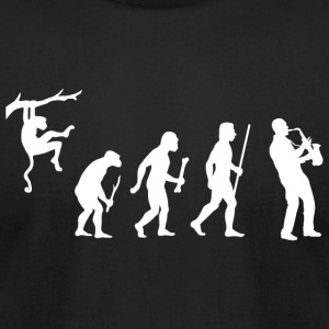 Saxophone - Saxophone Evolution - Men's T-Shirt by American Apparel