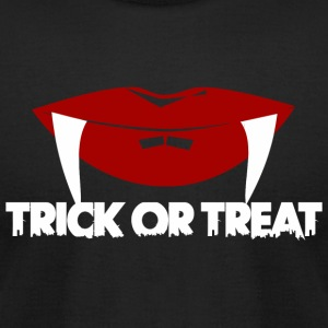 Trick Trick Or Treat - Men's T-Shirt by American Apparel