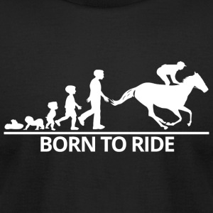 Ride - born to ride - Men's T-Shirt by American Apparel