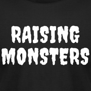 Monster - Raising Monsters - Men's T-Shirt by American Apparel